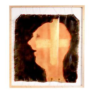 Croce in la testa by Gaetano Pesce