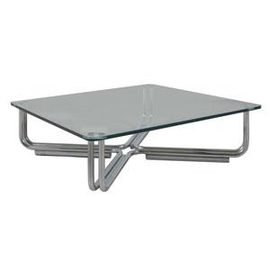 Tavolino in cristallo by Gianfranco Frattini