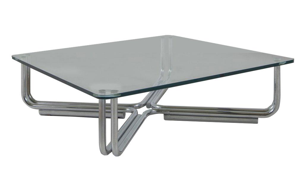 Tavolino in cristallo by Gianfranco Frattini - Galleria Luisa Delle ...