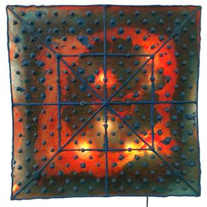 Quadrata a muro by Gaetano Pesce