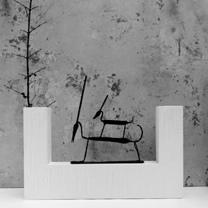 Vaso Antilopi by Andrea Branzi