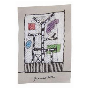 Voliere #2 Disegno by Andrea Branzi