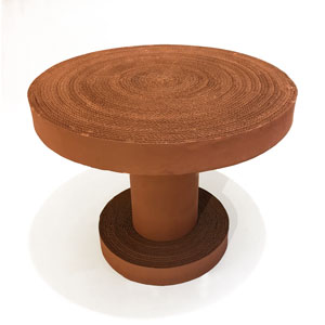 Cardboard Coffee Table by Fernando & Humberto Campana